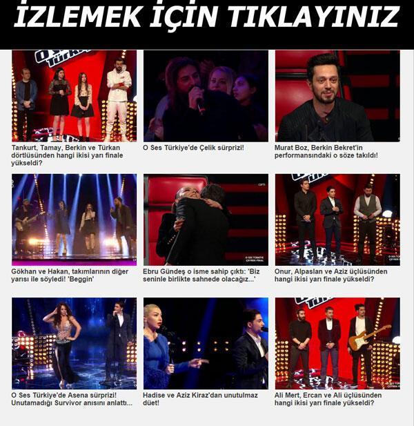 O Ses Türkiyenin şampiyonu kim oldu