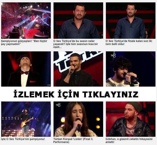 O Ses Türkiye yarışmasının birincisi Emre Sertkaya oldu - izle