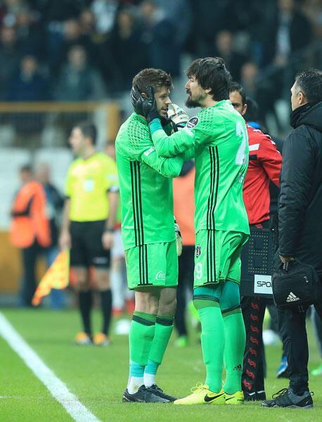 Beşiktaşta Fabri sakatlandı