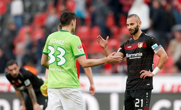 Bayer Leverkusen-Wolfsburg: 3-3