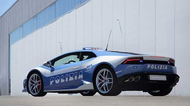 İtalyan polisine güç takviyesi: Lamborghini Huracan LP 610-4