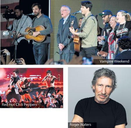 Müzisyenlerin başkan adayı