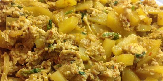 7 Nisan günün menüsü (Yumurta yemekleri)