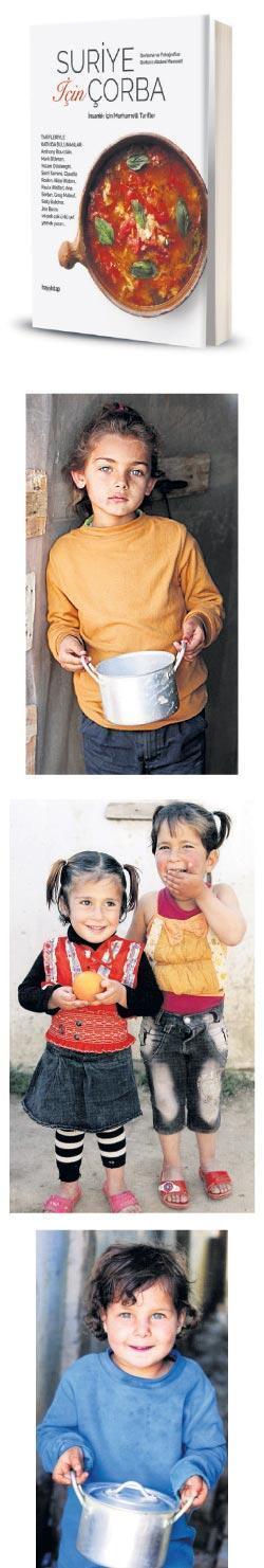 Suriye için merhametli çorbalar