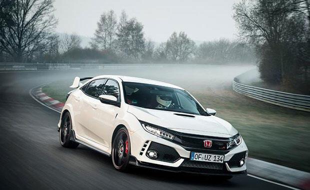 Rekortmen Honda Type R sonbaharda Türkiyede