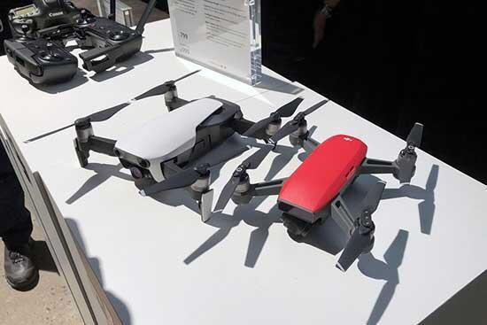 DJIdan akıllı telefon boyutunda 4K video kaydedebilen yeni drone: Mavic Air