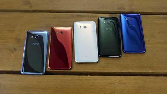 HTC U11 sonunda resmiyete kavuştu