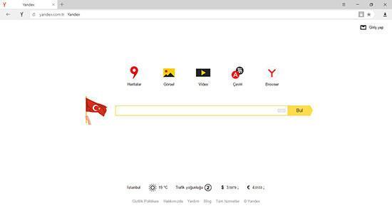 Yandexten 19 Mayısa özel logo
