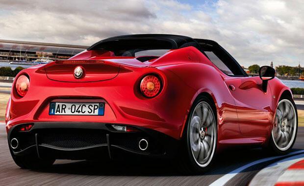 Alfa Romeo 4c Türkiyeye ayak bastı