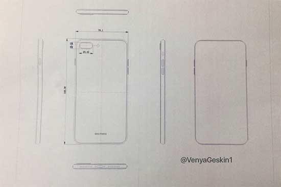iPhone 8 ve iPhone 7s Plus tekrardan ortaya çıktı