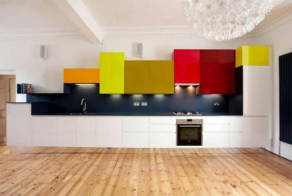 Mutfaklarınıza renk katma zamanı
