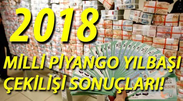 Milli Piyango sonuç sorgulama ekranı 2018 Milli Piyango yılbaşı özel çekilişi sıralı tam liste