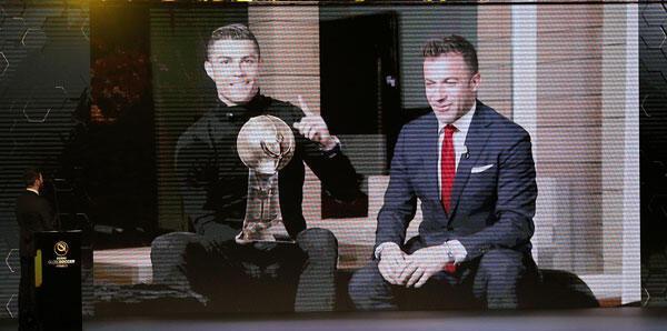 Cristiano Ronaldoya bir ödül daha