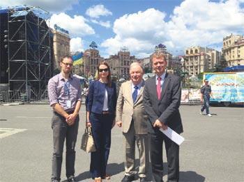 Ukrayna Avrupa için bir işbirliği alanı olabilir