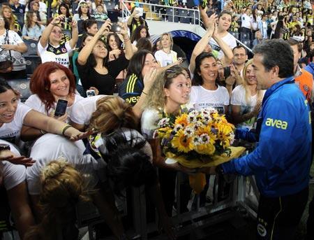 Aşka göçebedir Fenerbahçe...