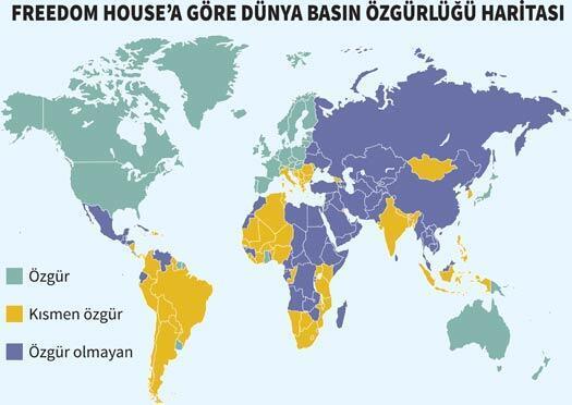 Türkiye basında kısmi özgürlüğünü de yitirdi