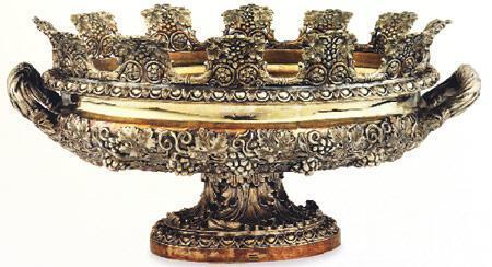 Köşk deposunda gümüş hazineler