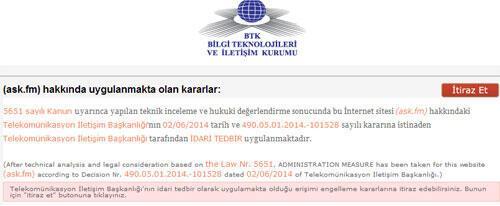 Ask.fm kapatıldı