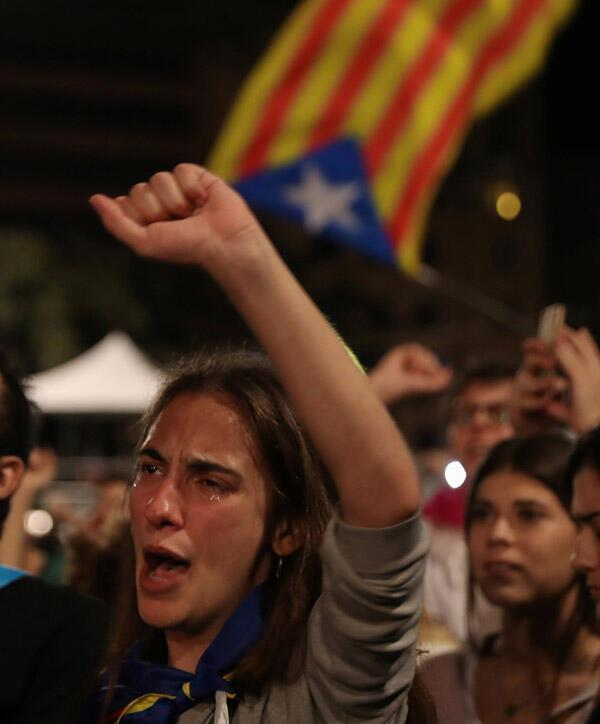 Son dakika... Katalonya referandumunda evet oranı yüzde 90,09