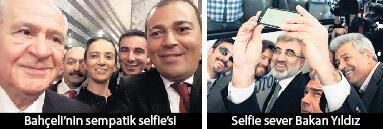 Selfielerle yaşıyoruz