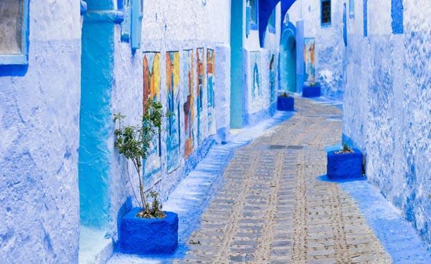 Mavi kent Şafşavan