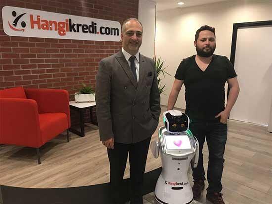 Bankacılık işlemlerinde özel robotlar kullanılacak