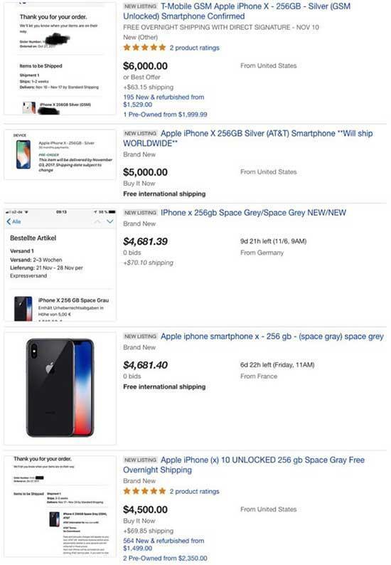 iPhone X yurt dışında ön siparişe sunuldu Stoklar anında tükendi