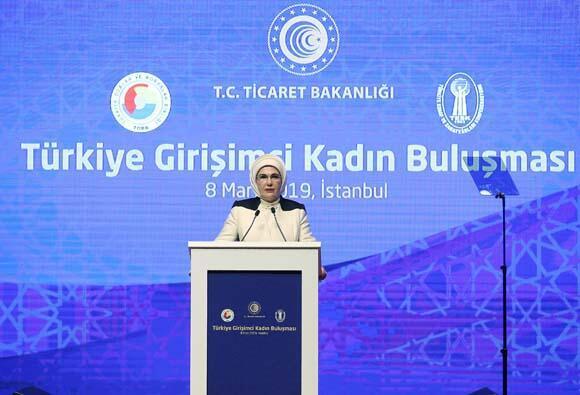 Emine Erdoğan: Dünya, kadın ruhuyla yeniden tasarlanmayı bekliyor