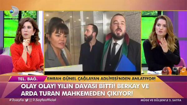 Arda Turan-Berkay Şahin duruşmasında flaş ifadeler