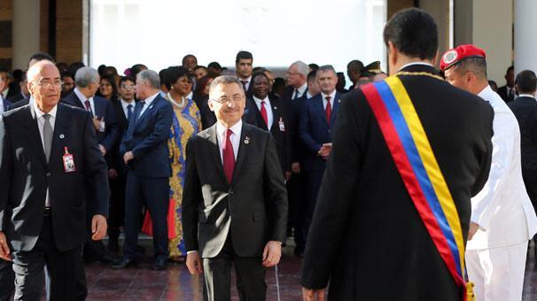 Cumhurbaşkanı Yardımcısı Oktaydan iş adamlarına Latin Amerika çağrısı