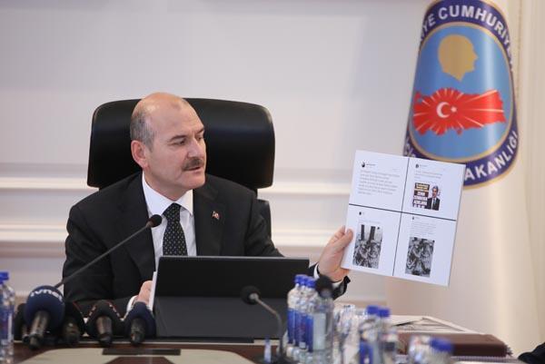 İçişleri Bakanı Soyludan o fotoğraflarla ilgili flaş açıklama