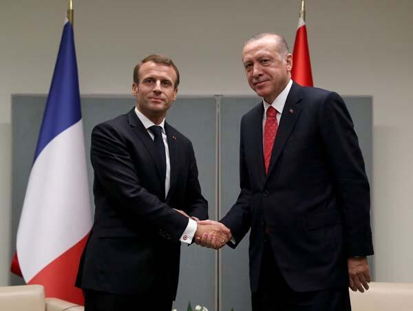 Son dakika | Erdoğandan üst düzey görüşmeler Önce May sonra Macron...