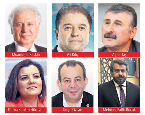 CHP'nin listesinde sürpriz yok