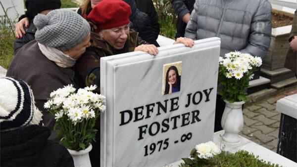 Defne Joy Fosterın annesi gözyaşlarına boğuldu