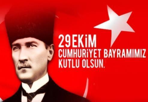 En güzel 29 Ekim mesajları 2019...  Kısa, resimli, anlamlı 29 Ekim Cumhuriyet Bayramı mesajları
