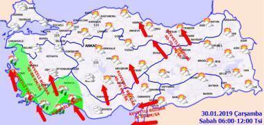 Meteorolojiden son dakika uyarısı Hava durumu nasıl olacak