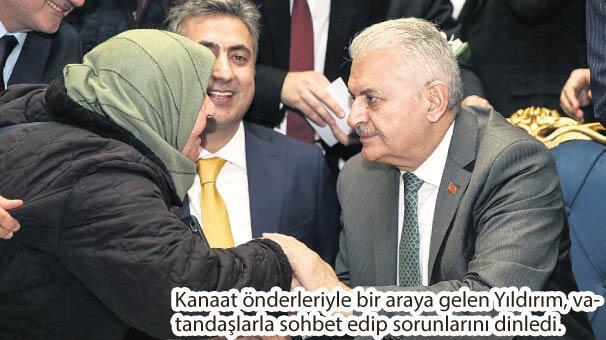 Yıldırım: İstanbul için göreve talibiz