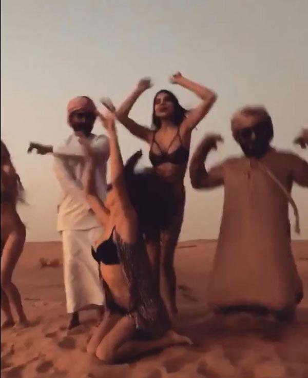 Merve Taşkın, Dubaiyi karıştırdı