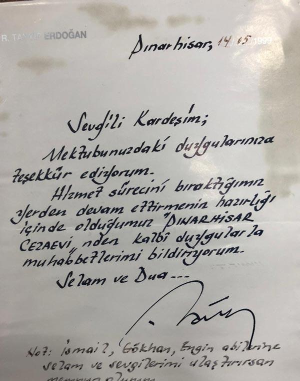 Cumhurbaşkanı Erdoğan Elazığda mektup arkadaşıyla görüştü