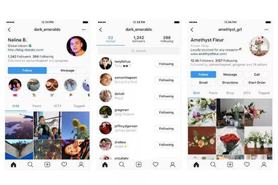 Instagram yeni tasarımda takipçi sayısını arka plana atıyor
