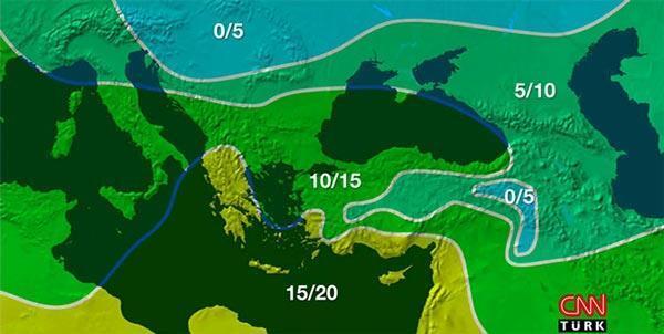 Hava durumu raporu yayınladı Özellikle bu iki güne dikkat