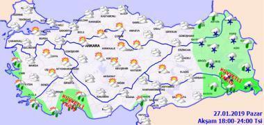 Son dakika: Meteorolojiden yağış uyarısı Hava durumu bugün nasıl olacak