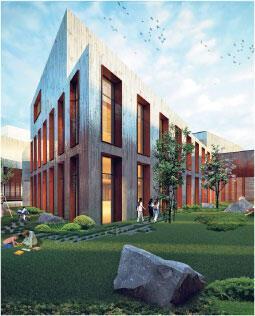 Diyarbakır'ın ödüllü kütüphanesi