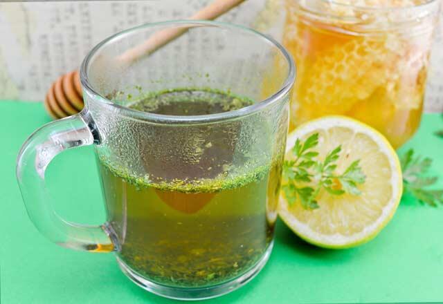 Maydanoz suyunun faydaları