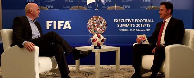 Infantino: Türkiye, Dünya Kupasına ev sahipliği yapabilir
