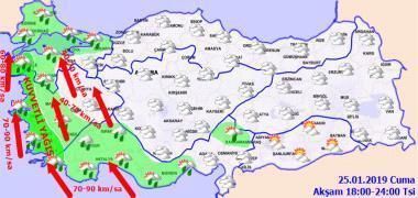 Meteorolojiden son dakika uyarısı İstanbul hava durumu bugün nasıl