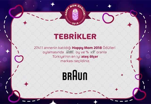 Happy Mom ödülleri kazananları belli oldu