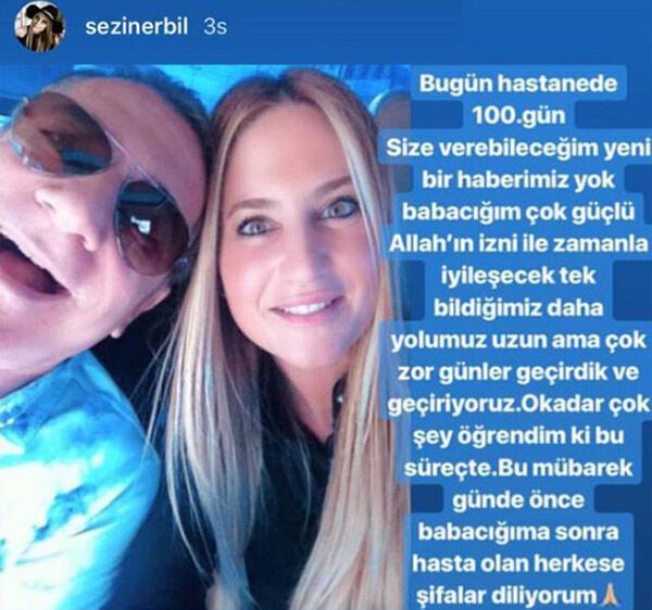 Mehmet Ali Erbilin hastanede 100. günü