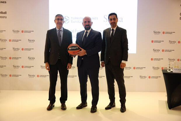 Siesta, THY Avrupa Ligine sponsor oldu