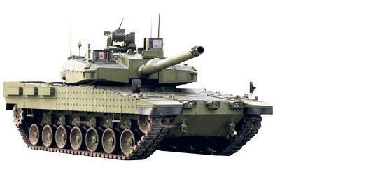 Altay 18 aya orduda insansız zırhlı yolda